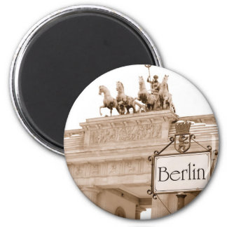 Vintage Berlin fridge magnet