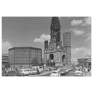 Vintage Berlin Kaiser Wilhelm Memorial church Tissue Paper