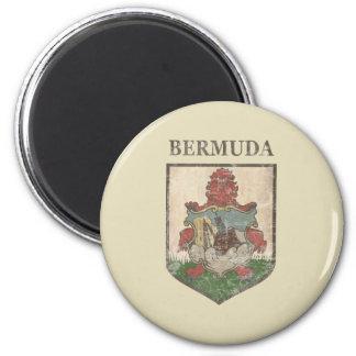 Vintage Bermuda Coat Of Arms Magnet
