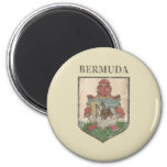 Vintage Bermuda Coat Of Arms Refrigerator Magnets