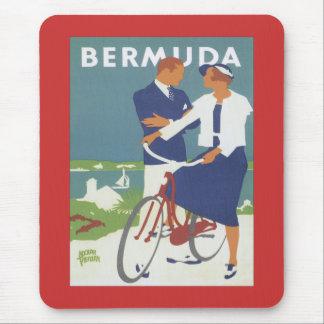 Vintage Bermuda Mouse Pad