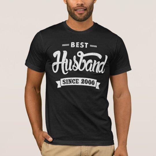 Vintage Best Husband Since 2000 T-Shirt