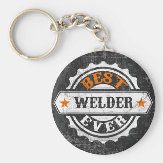 Vintage Best Welder Key Ring