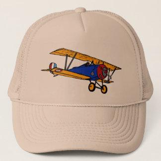 Vintage Bi-Plane Trucker Hat