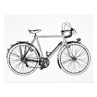 Vintage Bicycle 21.5 Cm X 28 Cm Flyer