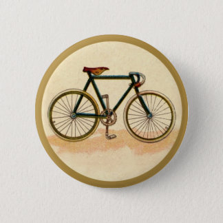 Vintage Bicycle 6 Cm Round Badge