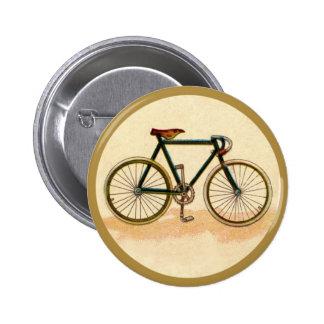 Vintage Bicycle 6 Cm Round Badge