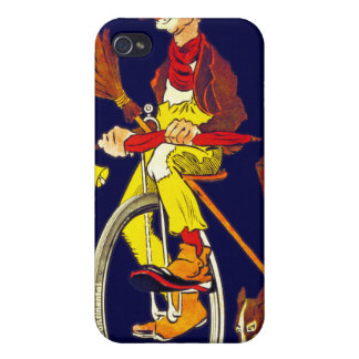 Vintage Bicycle Ad: Continental iPhone 4 Covers