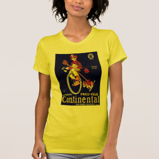 Vintage Bicycle Ad: Continental T-Shirt