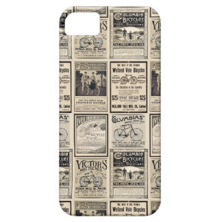 Vintage Bicycle Advertising Collage Ads Barely There iPhone 5 Case