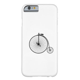 vintage bicycle antique bike symbol sihouette barely there iPhone 6 case