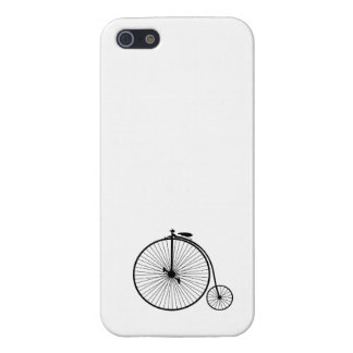 vintage bicycle antique bike symbol sihouette case for iPhone 5/5S