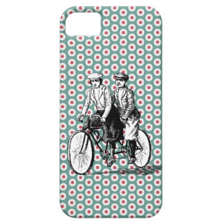 Vintage Bicycle Built for Two iPhone 5 Case