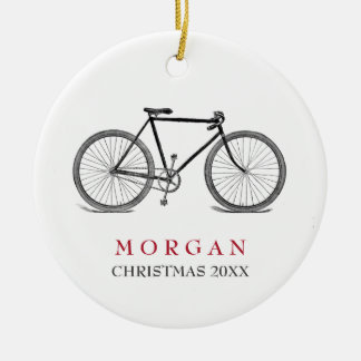 Vintage Bicycle Christmas Christmas Ornament