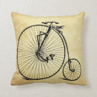 Vintage Bicycle Pillows