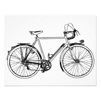 Vintage Bicycle Invite