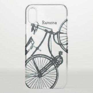 Vintage Bicycle iphone X case