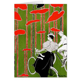 Vintage Bicycle Issue 1896 Card
