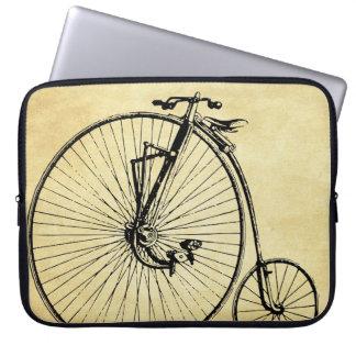 Vintage Bicycle Laptop Computer Sleeves