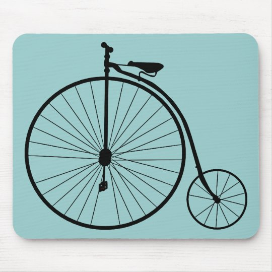 Vintage Bicycle Mouse Pad