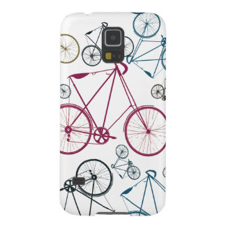 Vintage Bicycle Pattern Gifts for Cyclists Cases For Galaxy S5