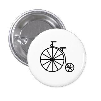 Vintage Bicycle Pictogram Button