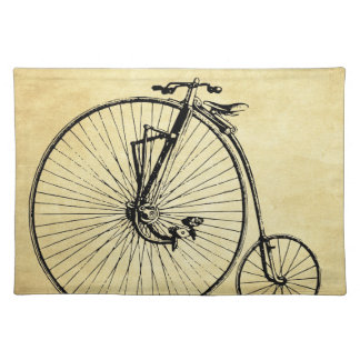 Vintage Bicycle Place Mats