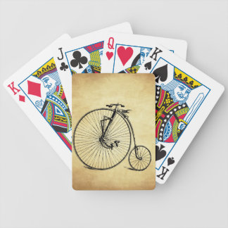 Vintage Bicycle Playing Cards