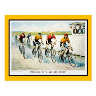 Vintage Bicycle Postcard:  :Wheelmen Postcard