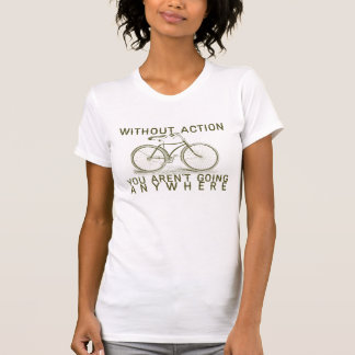 Vintage bicycle quotation t-shirt