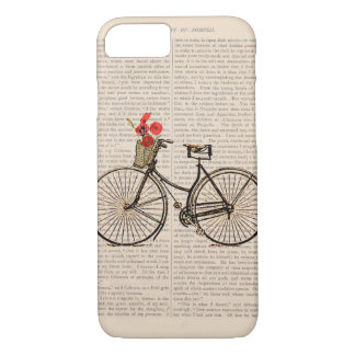Vintage Bicycle - Shabby Chic iPhone 8/7 Case