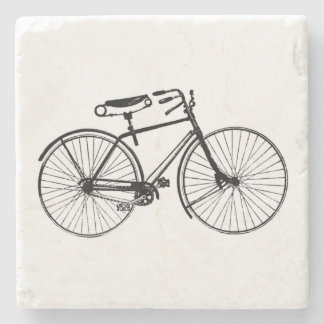 Vintage Bicycle Stone Coaster