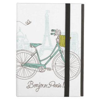 Vintage Bicycle with cute basket in Paris iPad Air Case
