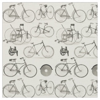 Vintage Bicycles Fabric