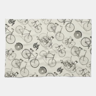 Vintage Bicycles Tea Towel