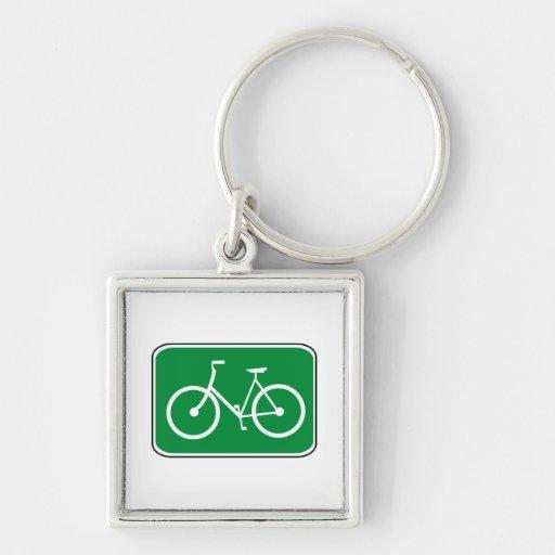 Vintage Bike Sign Key Chains