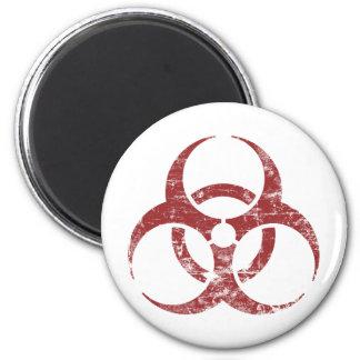 Vintage Biohazard Magnet