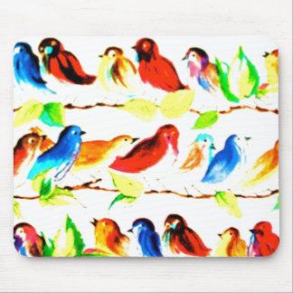 Vintage Bird Mousepad