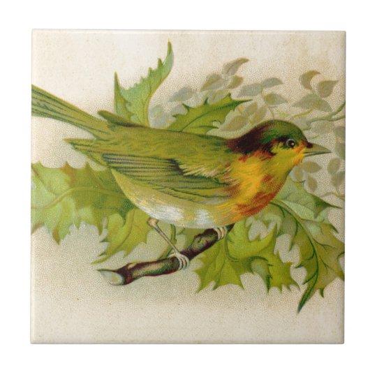 Vintage Bird Tile