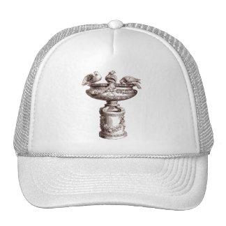 Vintage Birdbath Hat