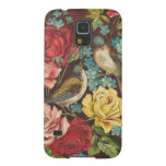 Vintage Birds and Flowers Galaxy S5 Case