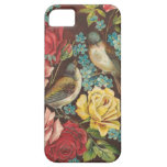 Vintage Birds and Flowers iPhone 5 Cases