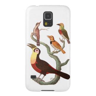 Vintage Birds Cases For Galaxy S5