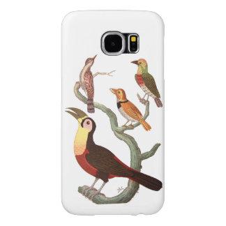 Vintage Birds Samsung Galaxy S6 Cases