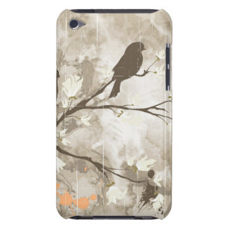 Vintage Birds on a Branch iPod Case-Mate Case