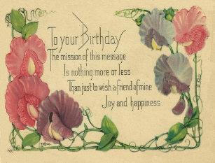 Friend Vintage Birthday Cards | Zazzle UK