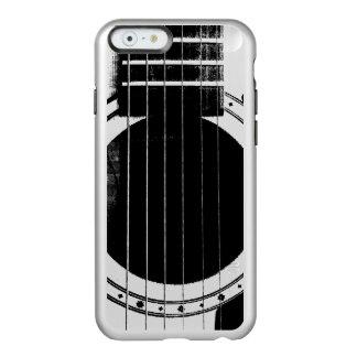 Vintage Black and Silver Guitar Incipio Feather® Shine iPhone 6 Case