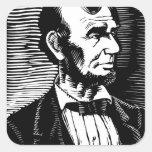Vintage Black and White Abraham Lincoln Portrait