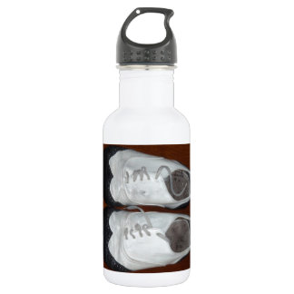Vintage Black And White Dance Shoes 532 Ml Water Bottle