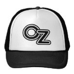 Vintage Black and White Wizard of Oz Fairy Tale Cap